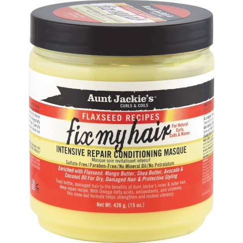Aunt Jackie's Fix My Hair Intensive Repair Conditioning Masque - 15oz - image 1 of 3