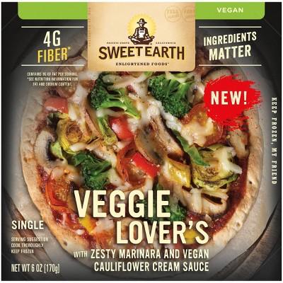 Sweet Earth Frozen Veggie Lover's Pizza - 6oz