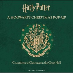 Harry Potter: A Hogwarts Christmas Pop-Up - by  Insight Editions (Hardcover)