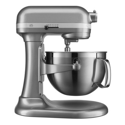KitchenAid Refurbished Professional 600 Series 6qt Bowl-Lift Stand Mixer Silver Gray - RKP26M1XCU
