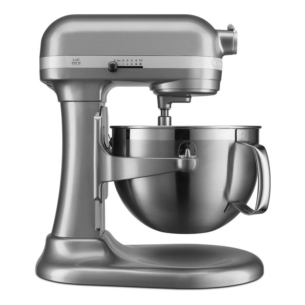 KitchenAid Refurbished Professional 600 Series 6qt Bowl-Lift Stand Mixer Silver Gray - RKP26M1XCU