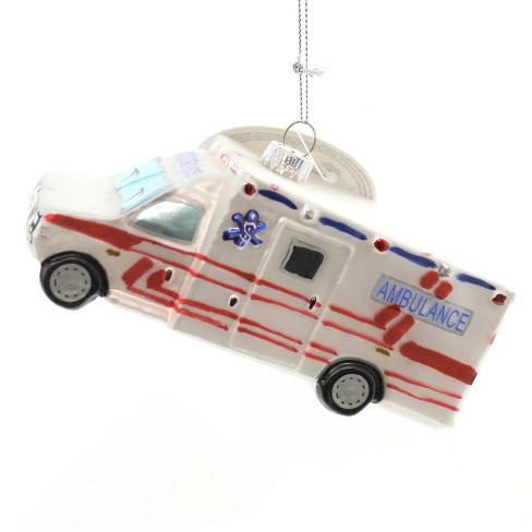 Holiday Ornaments Ambulance Ornament Healthcare Medical Glass  -  Tree Ornaments - image 1 of 3