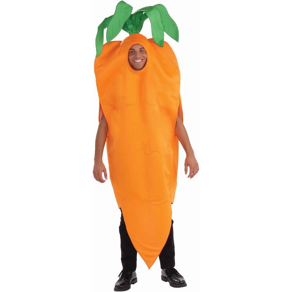 Adult Carrot Costume, Adult Unisex, Orange