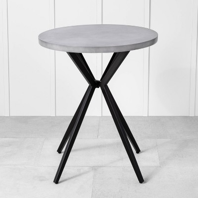 Patio Bistro Table Gray - Hearth & Hand with Magnolia