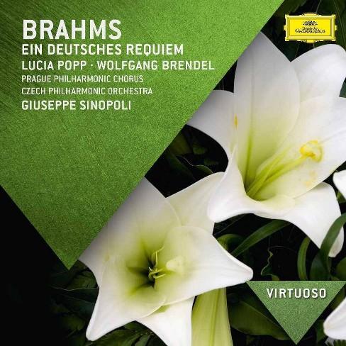 Brahms - Virtuoso: Brahms- Ein Deutsches Requiem (CD) - image 1 of 1