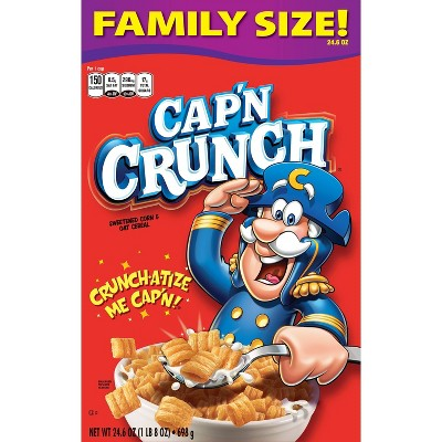 Cap'n Crunch Original Breakfast Cereal - 22.8oz