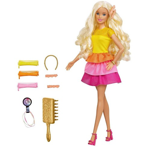 Barbie Ultimate Curls Doll and Playset - image 1 of 4