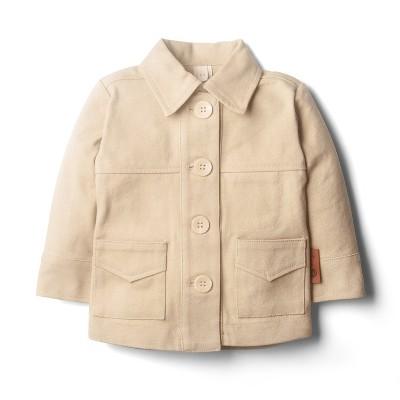 Goumikids Organic Cotton Canvas Toddler Canyon Coat