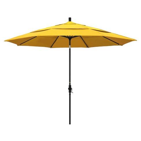 11' Patio Umbrella in Sunflower Yellow - California Umbrella - image 1 of 2