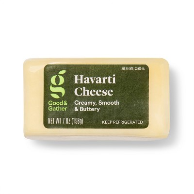 Havarti Cheese Chunk - 7oz - Good & Gather™
