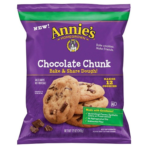 Annie's® Bake & Share Dough Chocolate Chunk Cookies - 12oz - image 1 of 1