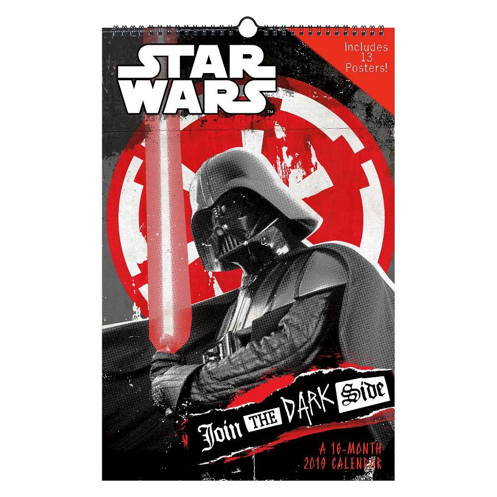2019 Wall Calendar Star Wars Oversized - Trends International, Multi-Colored
