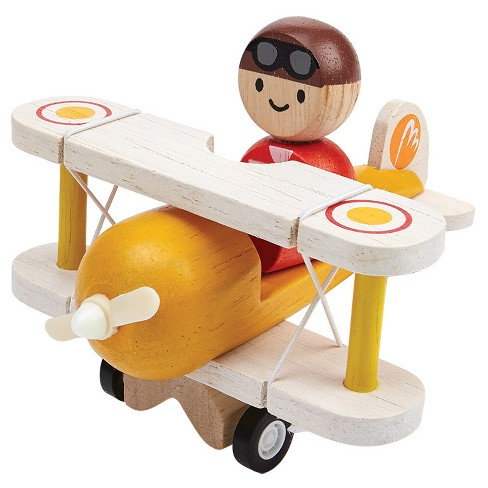 PlanToys Classic Airplane with Pilot - image 1 of 1