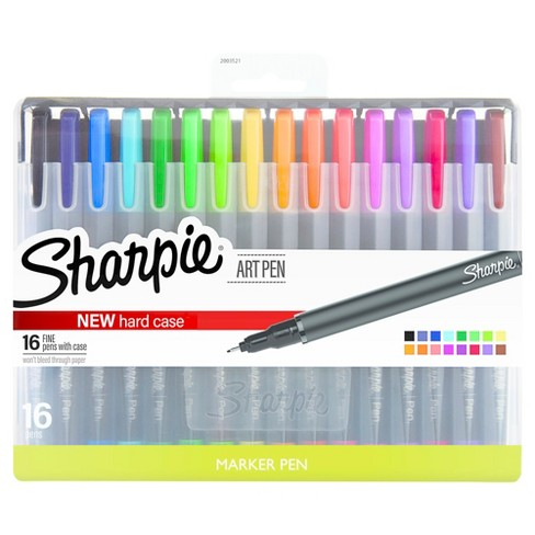 Sharpie® Art Pens with Case, 16ct - Multicolor - image 1 of 9