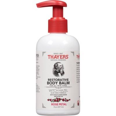 Thayers Natural Remedies Rose Petal Body Balm - 8 fl oz