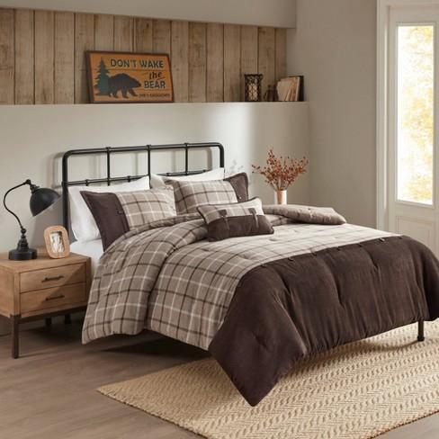 Anaheim 4 Pc Oversized Comforter Set, Bedding Oversized Comforter Sets