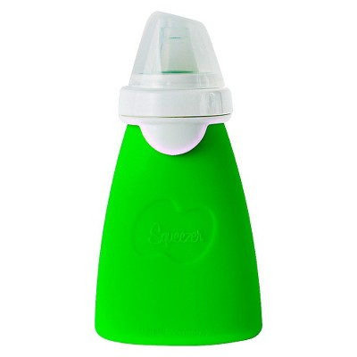 Squeezer with Eeeze™ Reusable Pouch 6oz - Lime