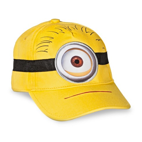 Toddler Boys' Despicable Me Minion Made One-Eye Minion Baseball Hat - image 1 of 2