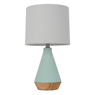 Modern Tapered Ceramic Table Lamp Mint - Project 62™