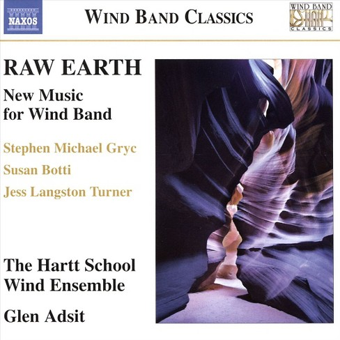 Hartt wind ensemble - Raw earth:New music for wind band (CD) - image 1 of 1