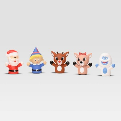 Rudolph the Red-Nosed Reindeer Finger Puppets - 5pc