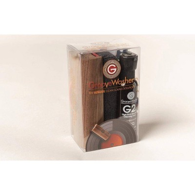 N/A - GrooveWasher Record Cleaning Kit (Walnut) (Vinyl)