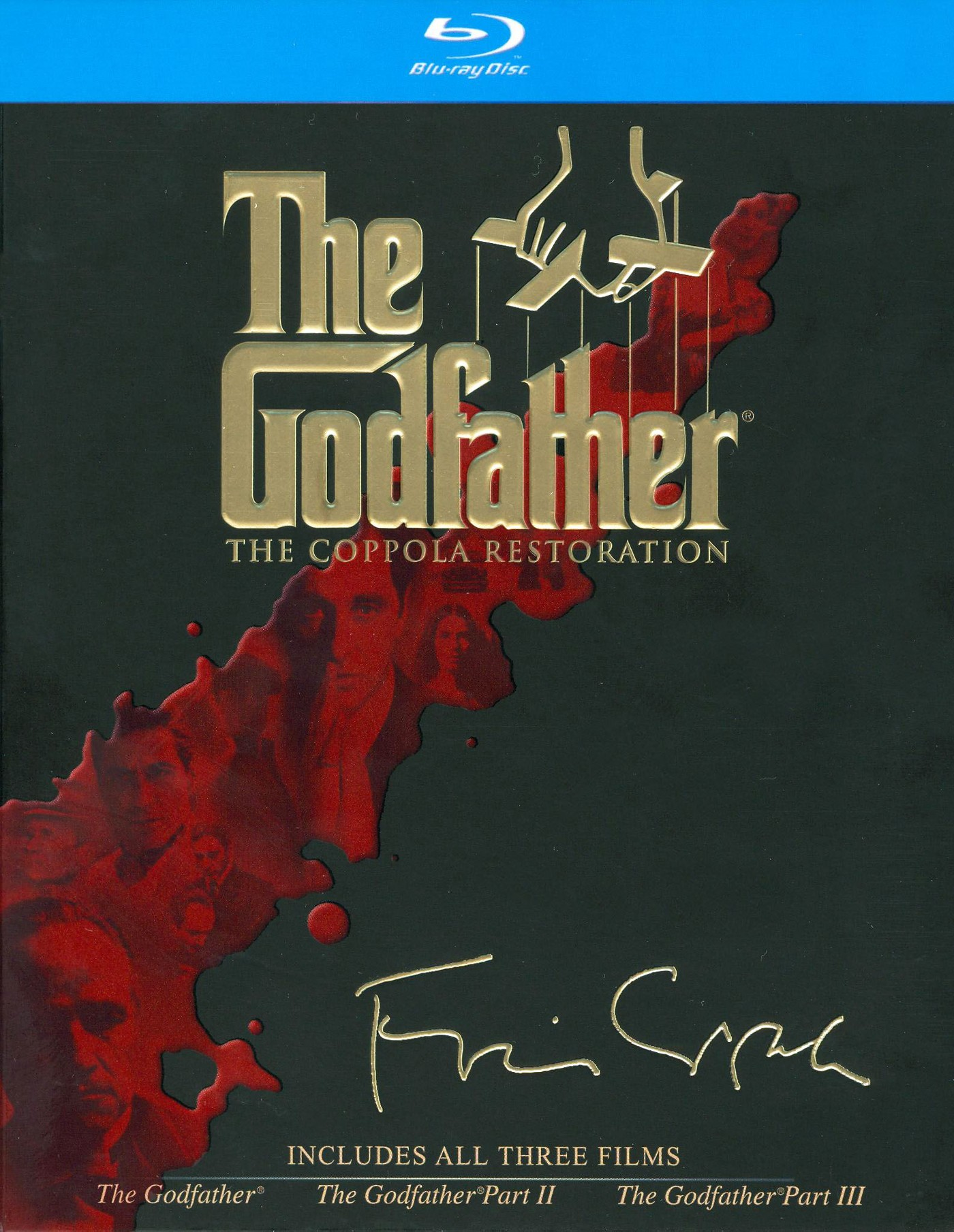 The Godfather Collection [Coppola Restoration] [4 Discs] [Blu-ray] - image 1 of 1