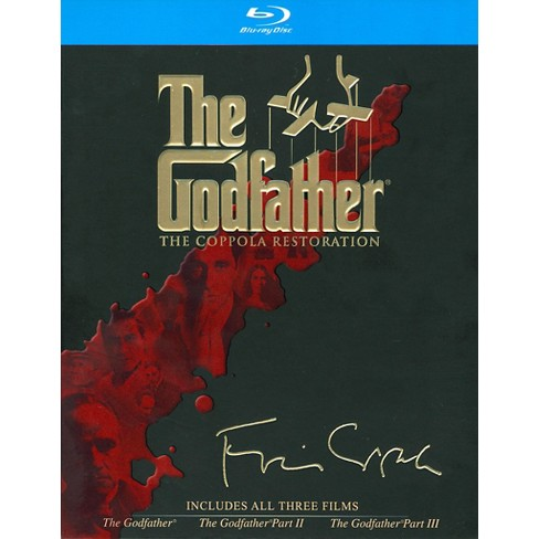 The Godfather Collection (Coppola Restoration) (Blu-ray) - image 1 of 1
