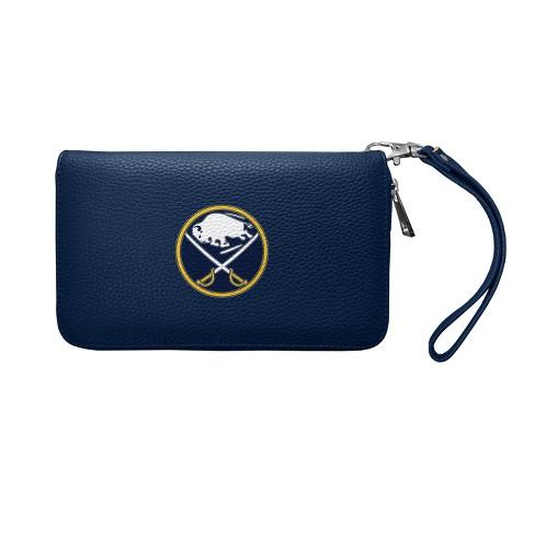 NHL Buffalo Sabres Pebble Zip Organizer Wallet - image 1 of 3