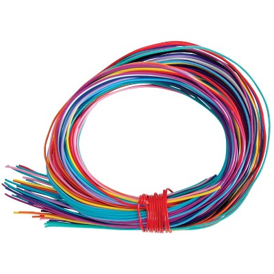 Twisteez Craft Sculpture Wire, 125 ft, Assorted Color, pk of 50
