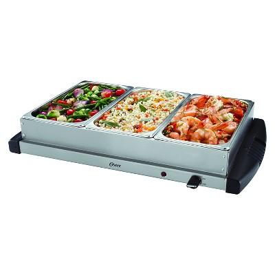 oster triple warming tray buffet server ckstbstw00 target rh target com buffet warming tray canada buffet warming tray canada