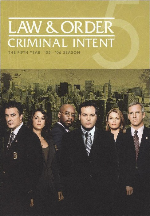 Law & Order: Criminal Intent - The Fifth Year [5 Discs] - image 1 of 1