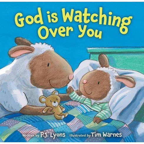 God Is Watching Over You - by  P J Lyons (Board_book) - image 1 of 1