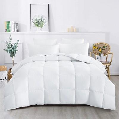 Puredown 75% White Down Lightweight Comforter 600 Fill Power