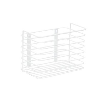Household Essentials Tall Basket Organizer Door Mount White