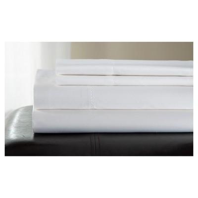 Queen 500 Thread Count Andiamo Cotton Sheet Set White