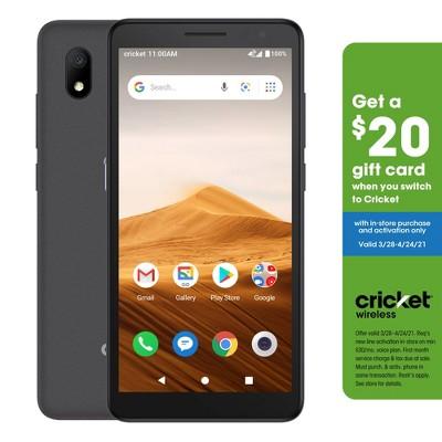 Cricket Prepaid Alcatel Glimpse (16GB) - Gray
