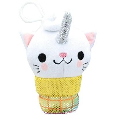 Se7en20 Kitty Cone Clip Uma The Unicorn 5 inch Plush Backpack Clip