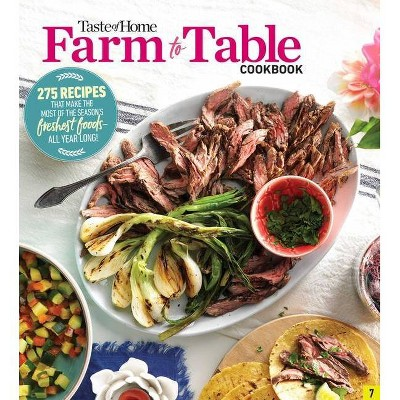 Taste of Home Farm to Table Cookbook - (Paperback)