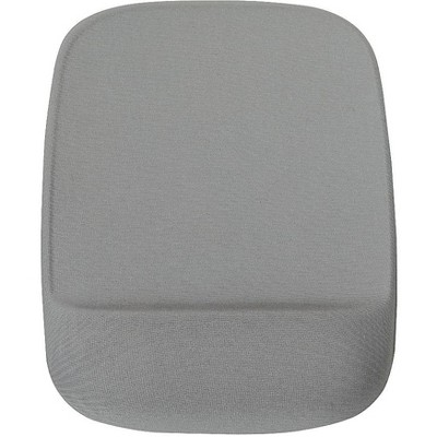 Staples Mouse Pad with Gel Wrist Rest Gray 24339944