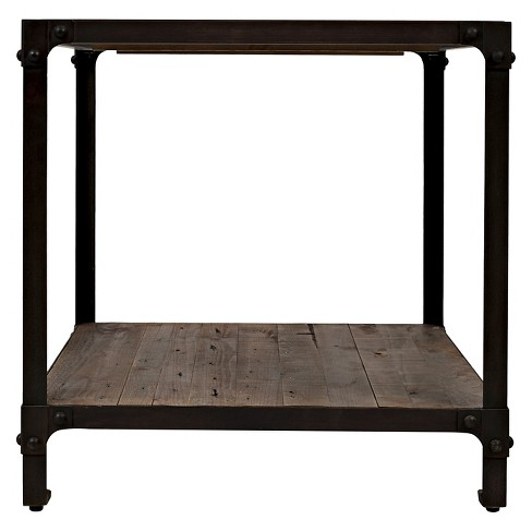 97d007e82e285 Forge End Table Brown - Jofran   Target