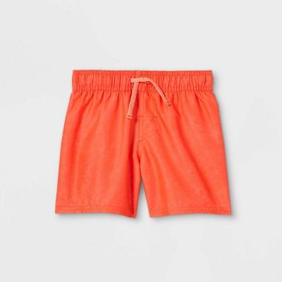 Toddler Boys' Swim Shorts - Cat & Jack™ Orange