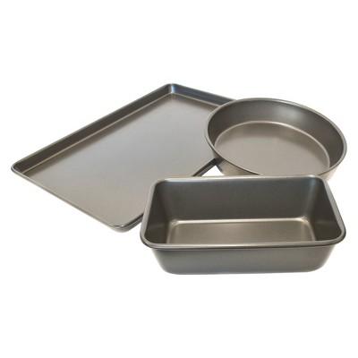 Chloe's Kitchen 3pc Bakeware Set