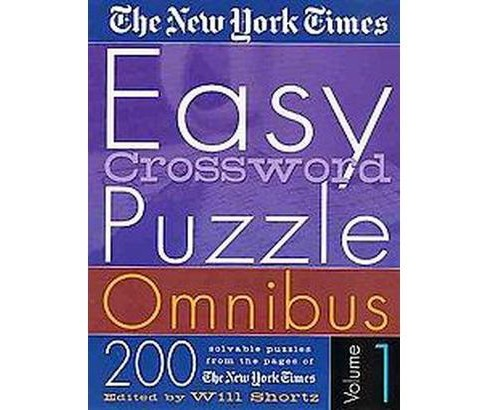 The New York Times Easy Crossword Puzzle Omnibus (1) (Paperback) - image 1 of 1