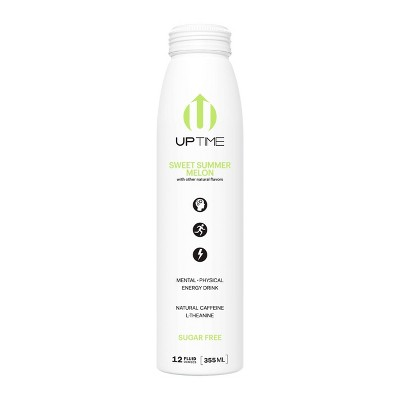 UPTIME Sweet Summer Sugar Free Energy Drink - 12 fl oz Bottle