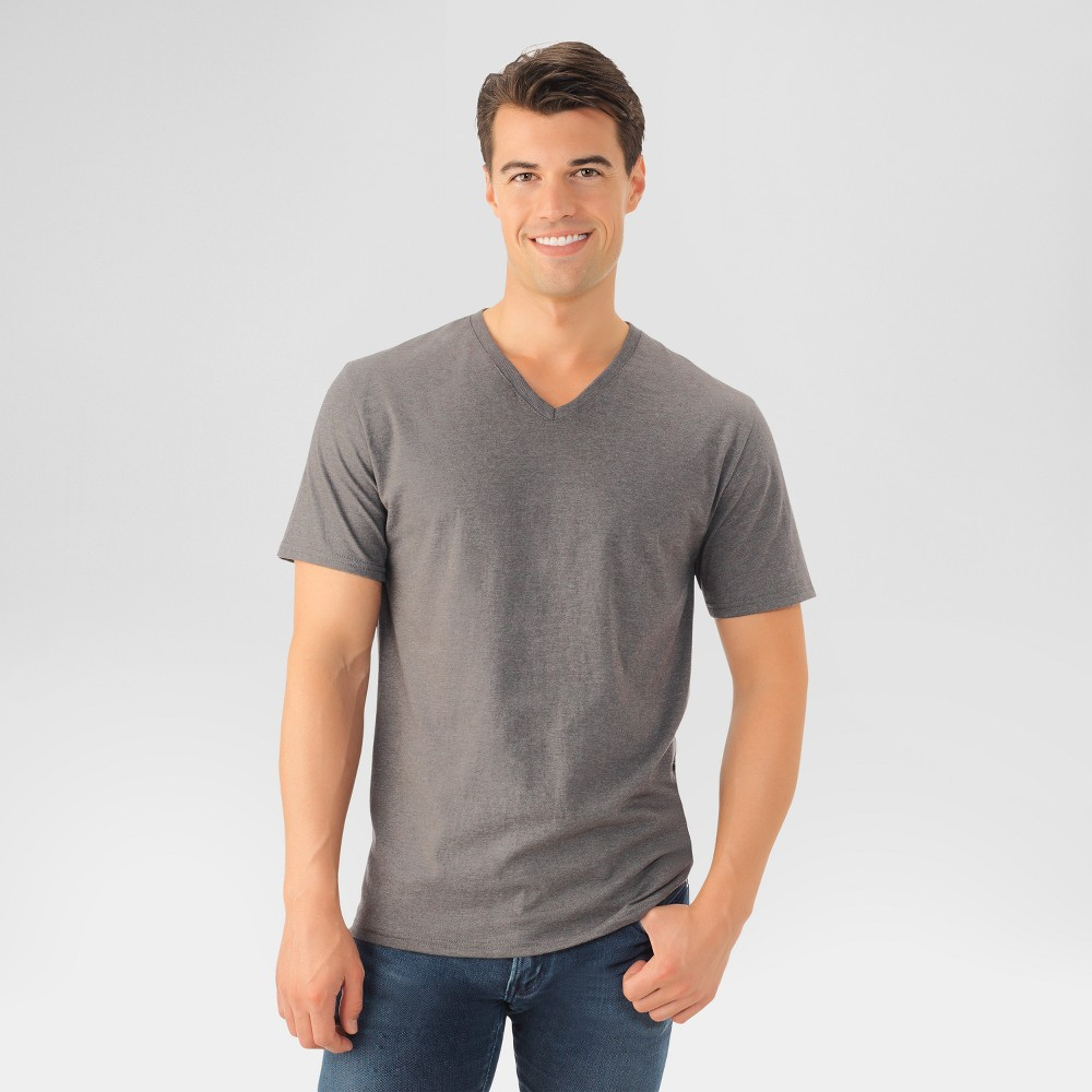 Fruit of the Loom Men's T-Shirt - Charcoal Heather XL