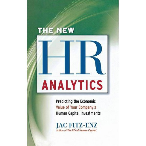New HR Analytics - by  Jac Fitz-Enz (Hardcover) - image 1 of 1