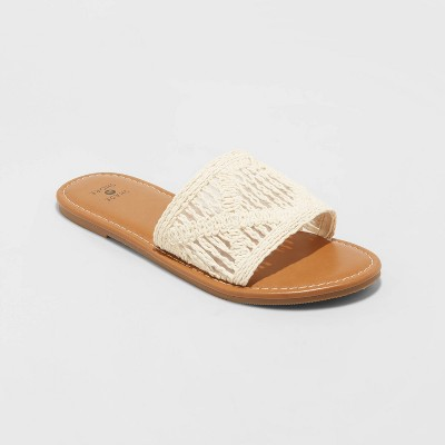 Women's Nicole Knit Slide Sandals - Shade and Shore™