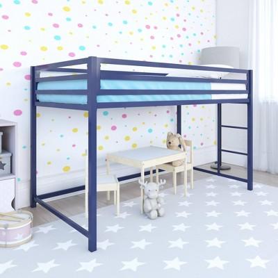Max Metal Junior Loft Bed Blue - Room & Joy