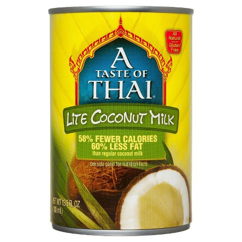 A Taste of Thai Lite Coconut Milk 14 oz - image 1 of 1